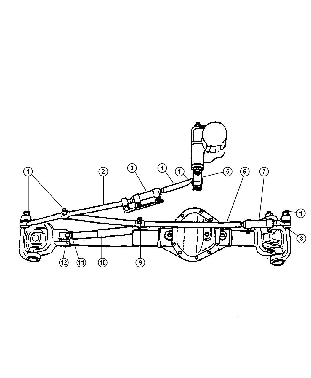 Dodge Ram 2500 Rod And Link Steering Linkagesteering Manual Guide