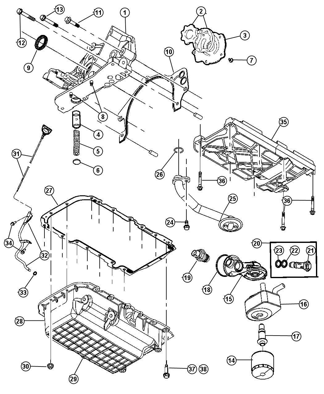 Pathfinder 3 5l Engine Diagram