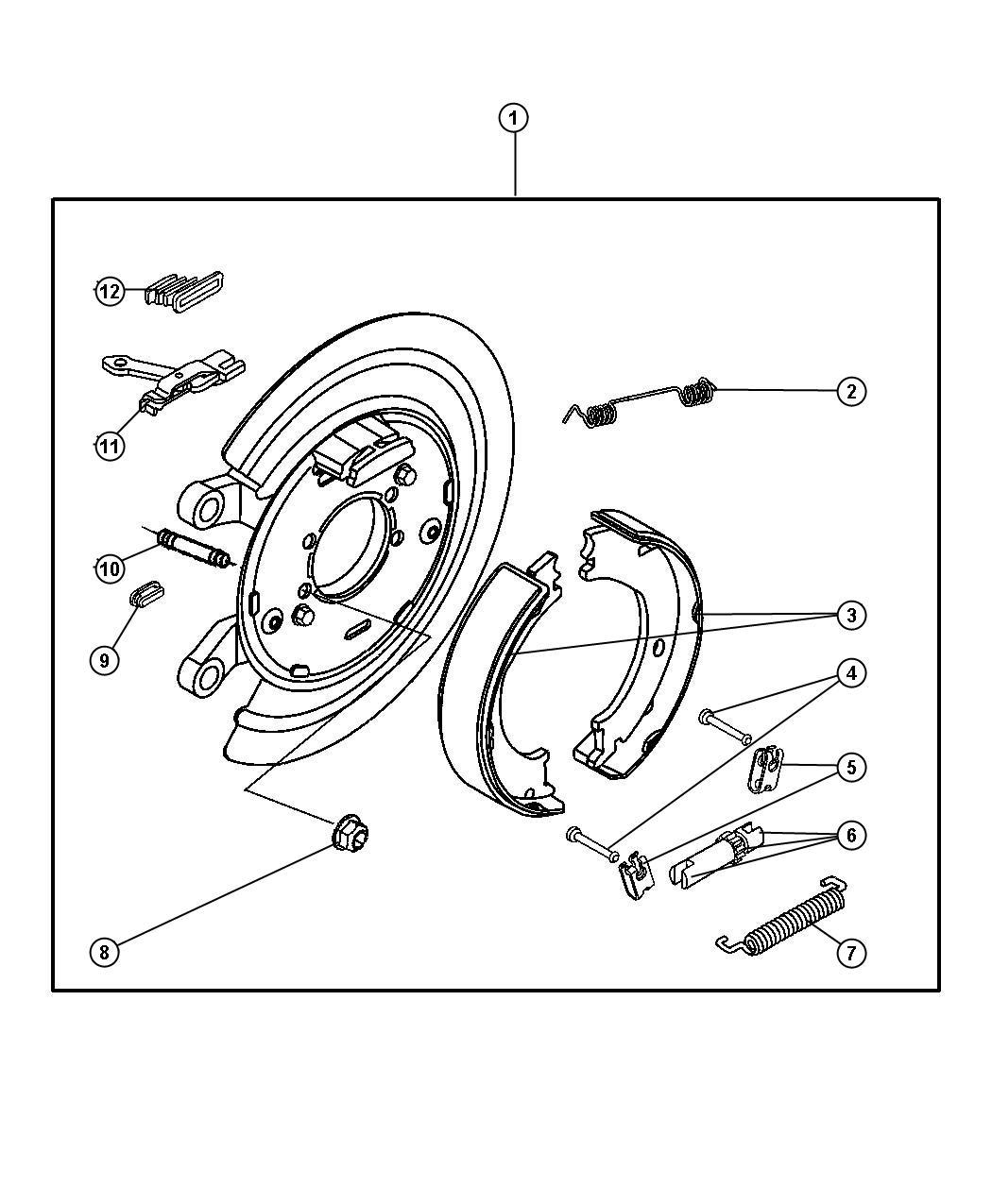 2003 Dodge Ram 2500 Adapter  Adapter Assembly  Parking