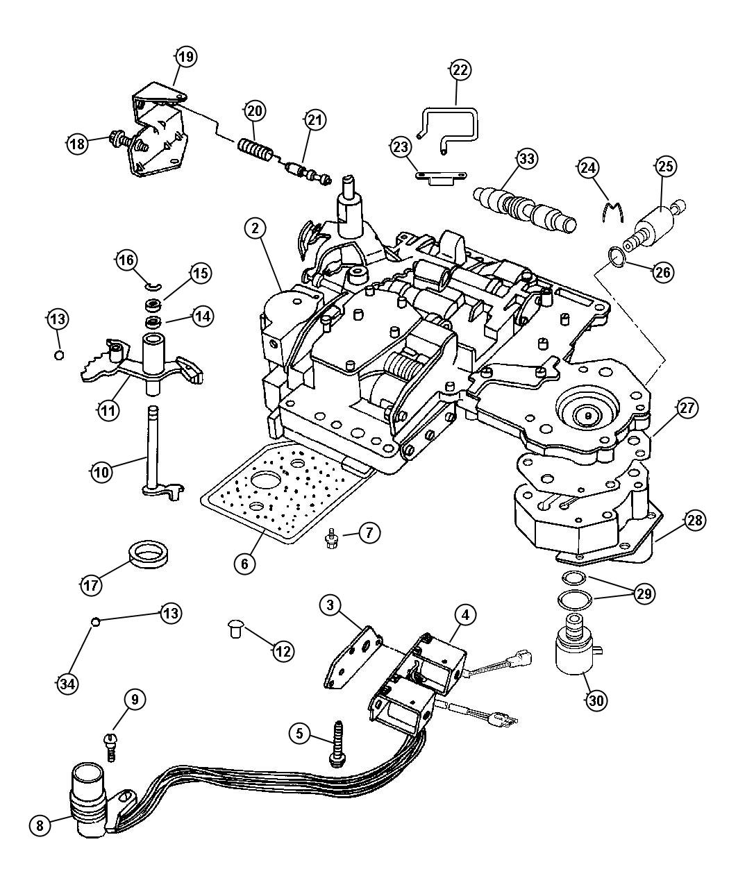 dodge ram 1500 transmission diagram