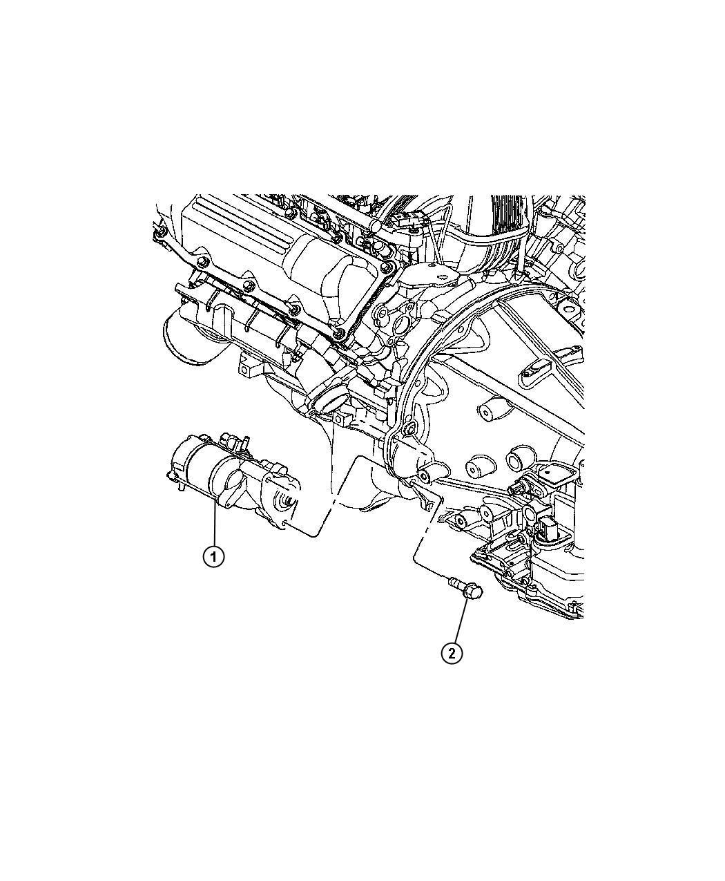 Dodge Dakota Starter. Remanufactured. Engine - R4801256AC ...