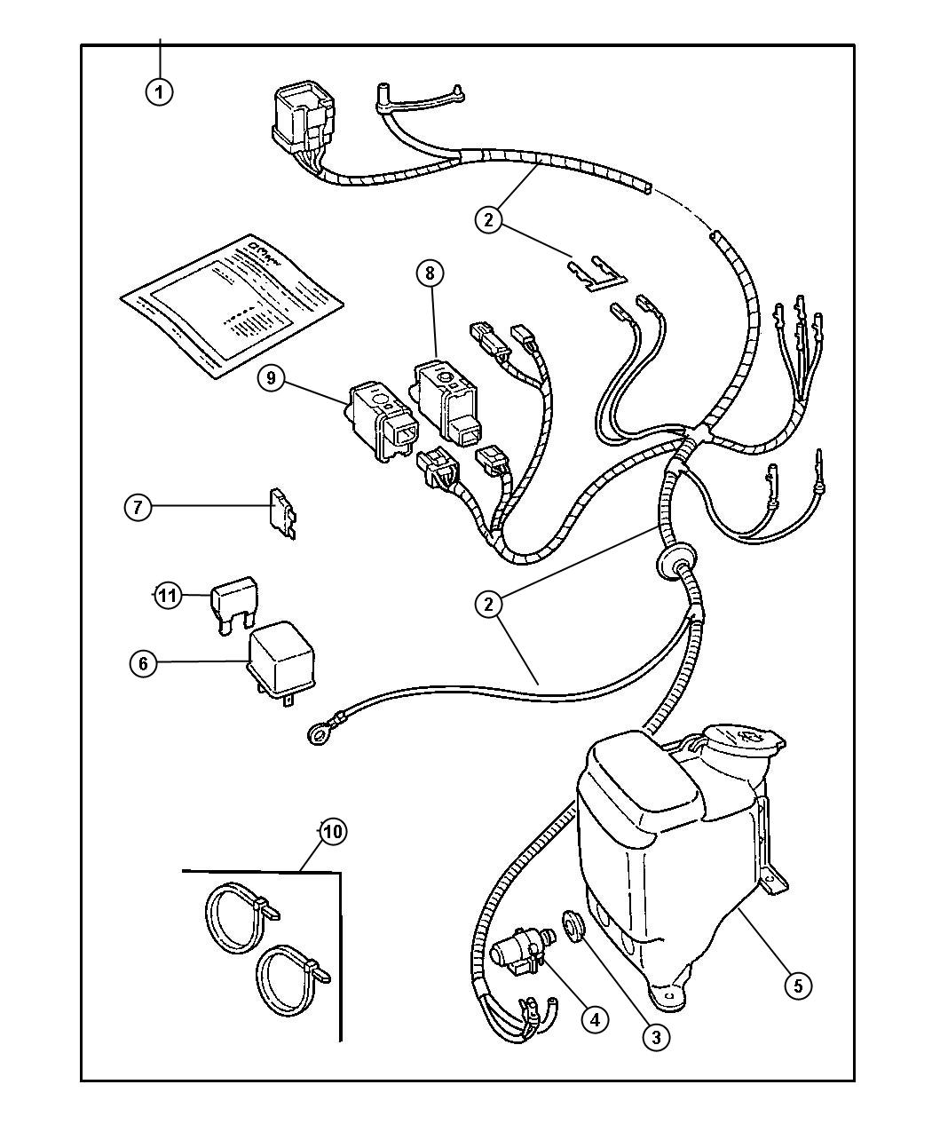 1987 jeep wrangleryj wiring diagrams set