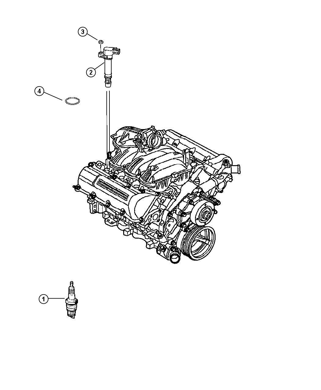 2006 Dodge Dakota Slt Quad Cab 4 7l V8 M  T 4x4 Coil  Ignition  Evo  4 7l 6 Cyl Gas   Wires