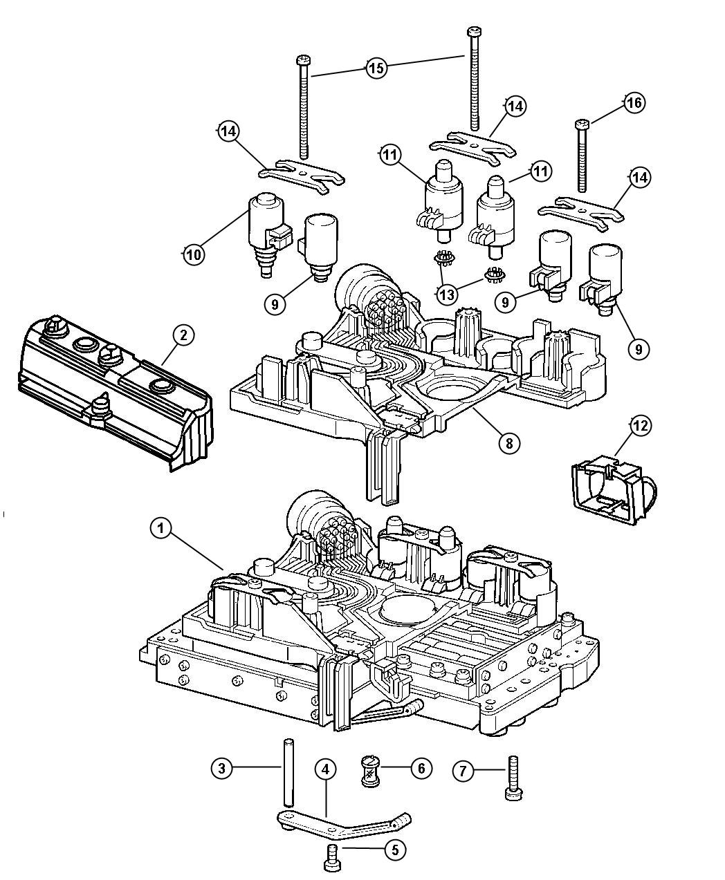 service manual  how to replace shift solenoid 2010 jeep