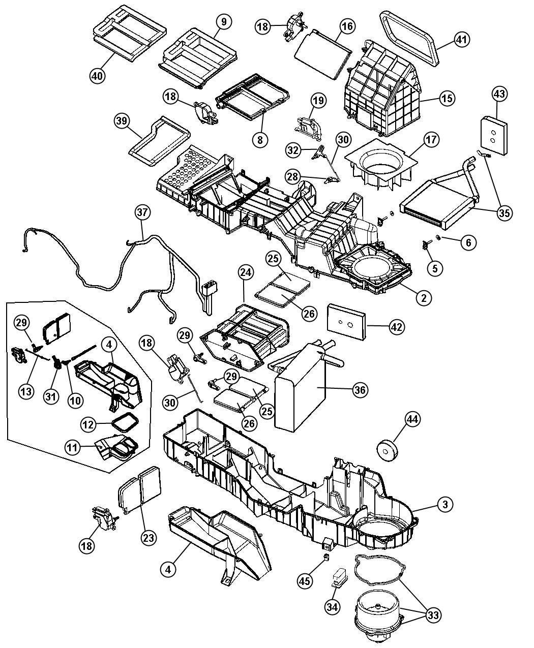 2006 Dodge Ram 2500 Coupling Actuator Air Conditioning Manual Guide