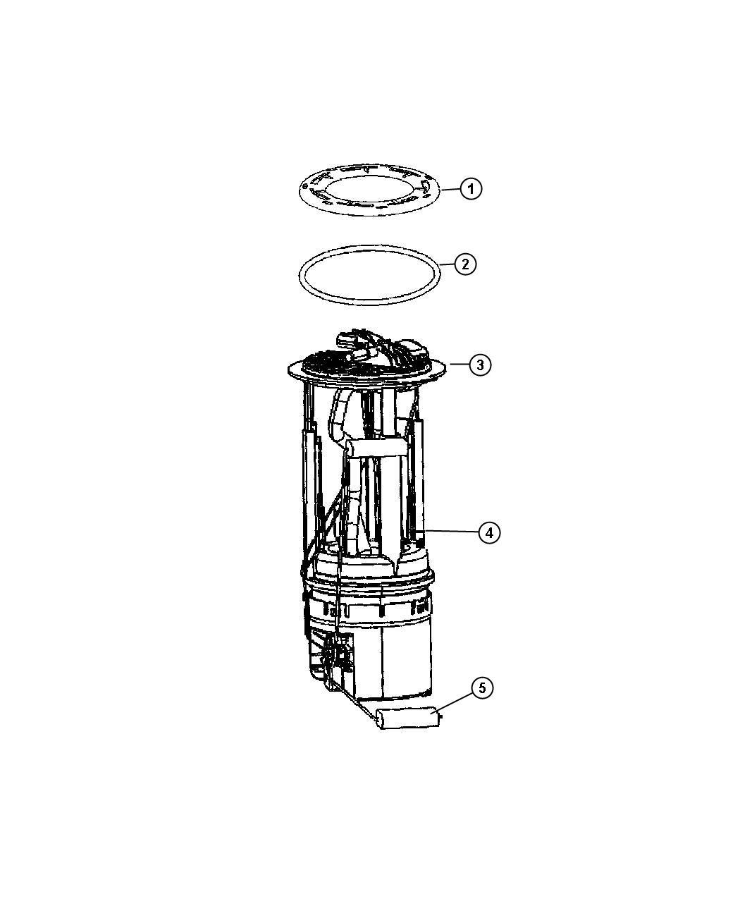 Dodge Nitro Module Kit  Module Package  Fuel Pump  Level
