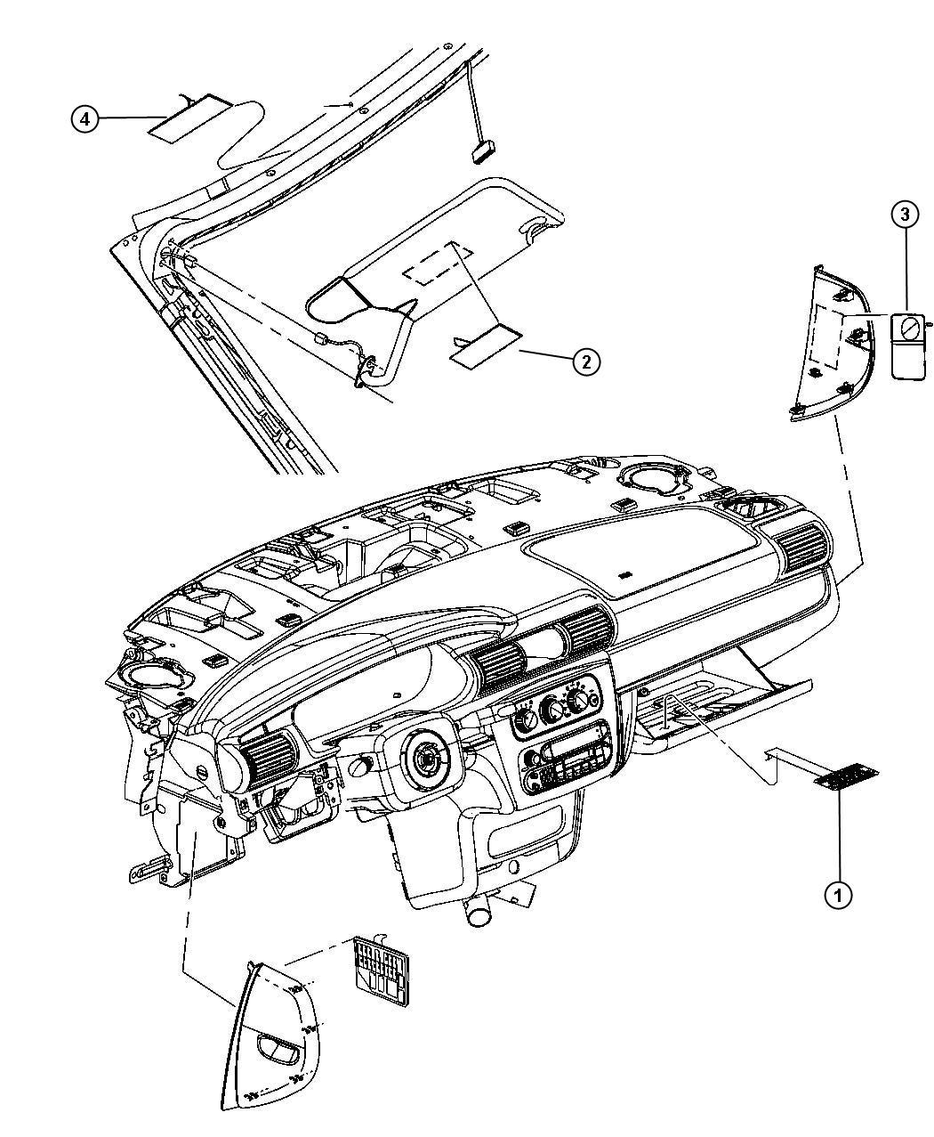 05140474aa mopar label backglass mopar parts overstock. Black Bedroom Furniture Sets. Home Design Ideas
