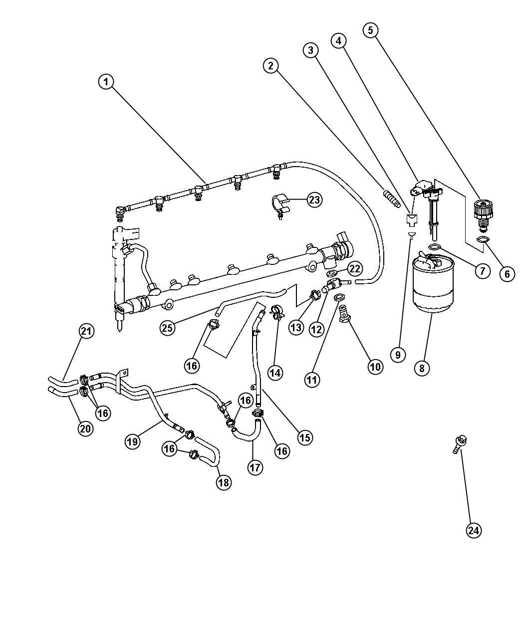 Dodge Sprinter Wiring Repair Kit  Diesel Engine  2 Mm