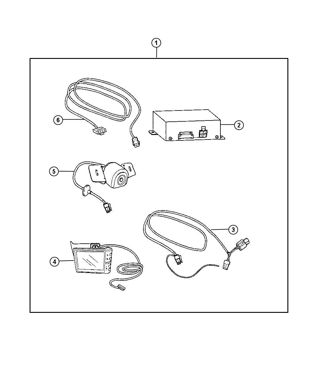 Jeep Commander Harness  Wiring
