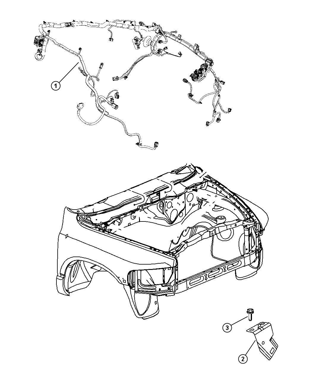 Dodge Ram 3500 Wiring  Headlamp To Dash   Anti