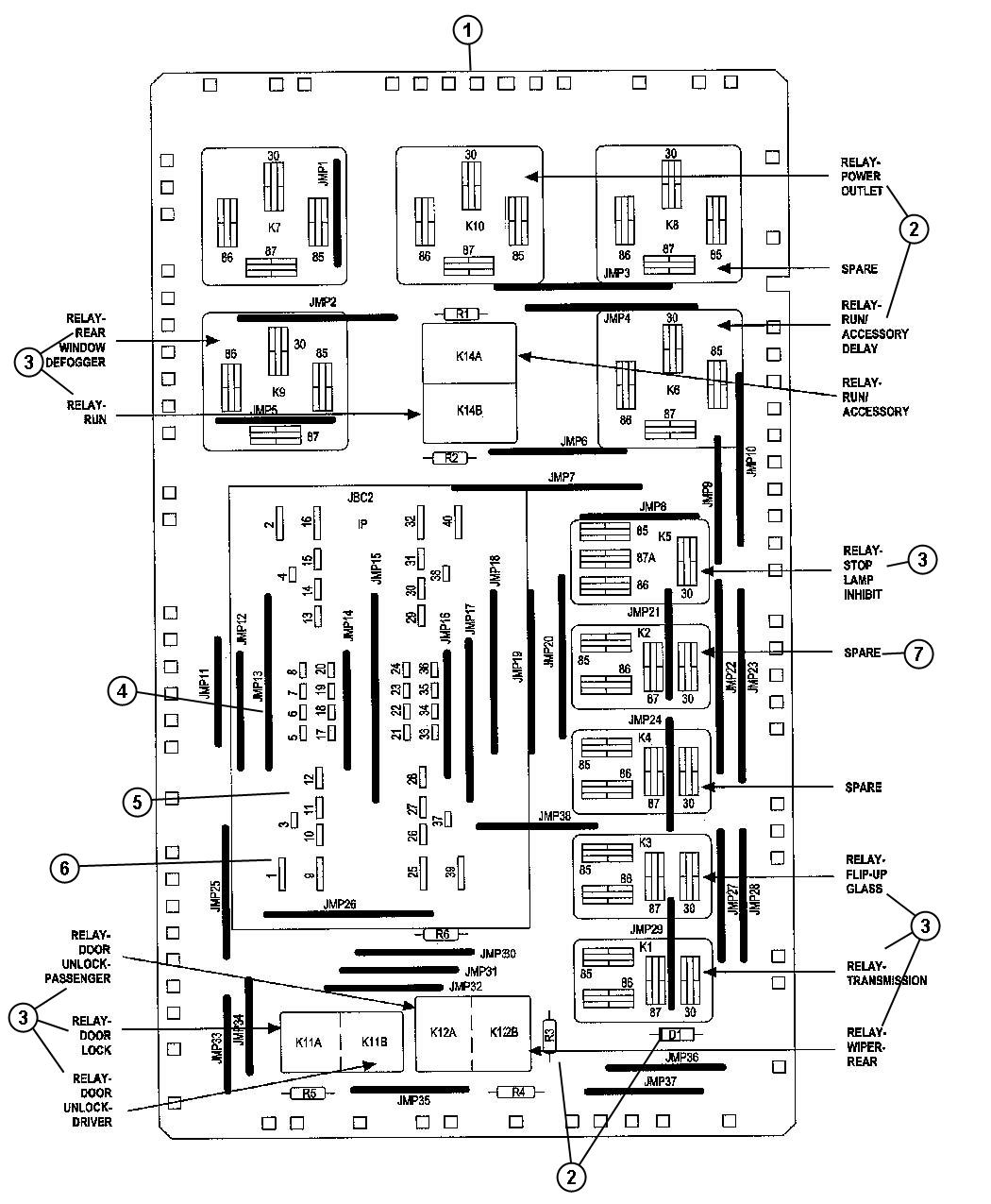 2006 Jeep Commander Trailer Wiring Diagram Engine Electrical Fuse Box