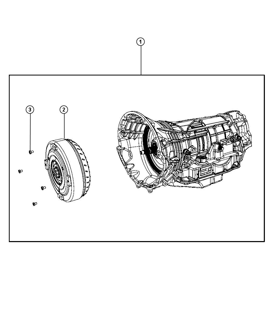 Jeep Grand Cherokee Transmission package. With torque ...