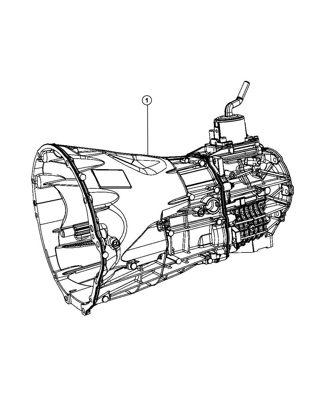 Dodge Nitro Transmission  Nsg370
