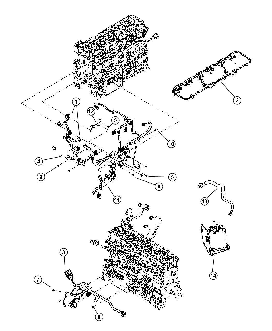 Dodge Ram 2500 Relay  Ait Intake Heater  G8v
