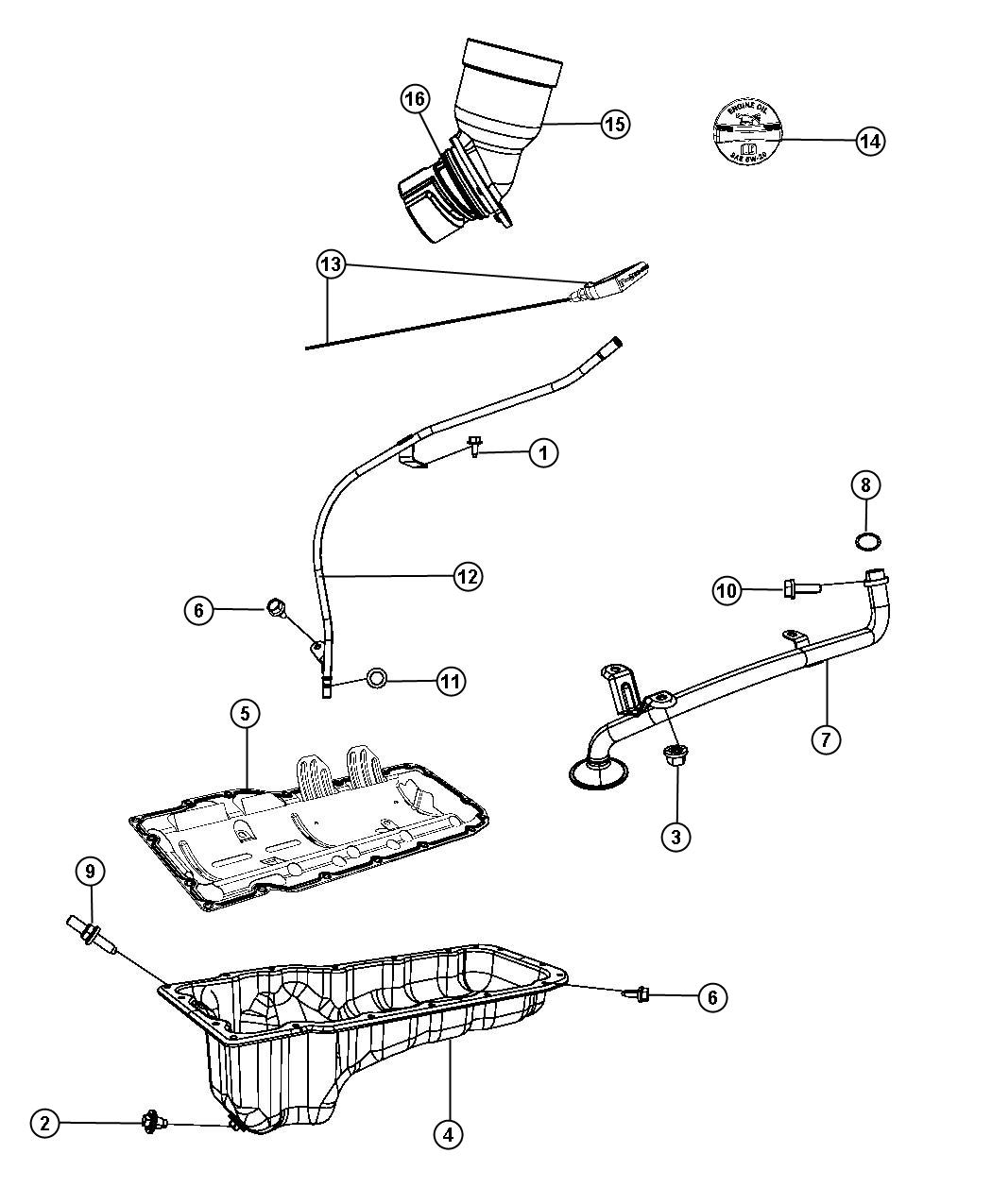 jeep grand cherokee engine parts diagram