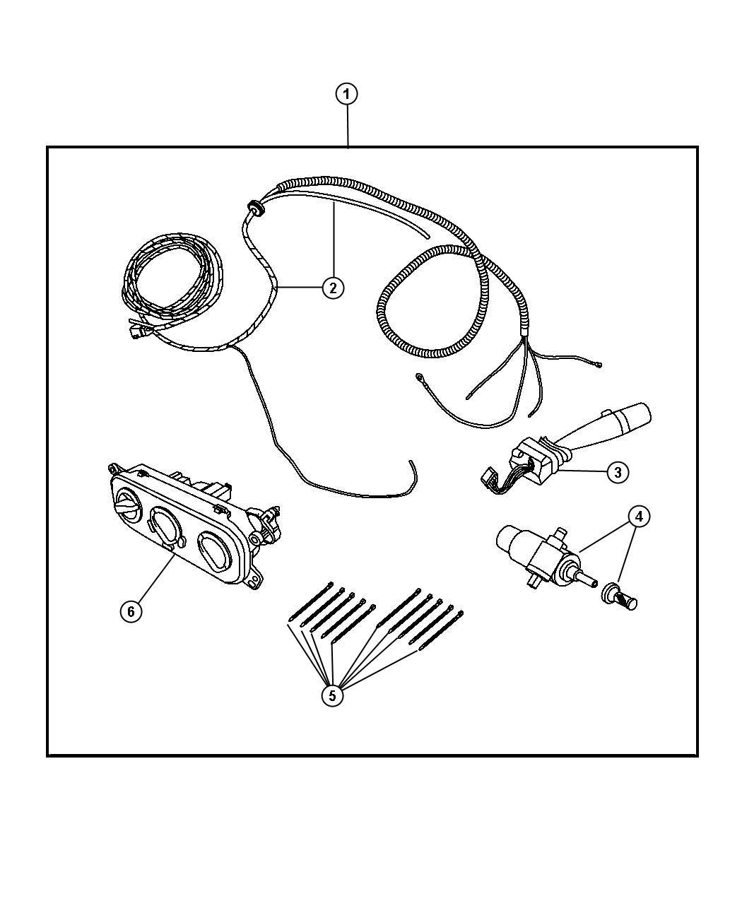 jeep wrangler rear window defroster wiring