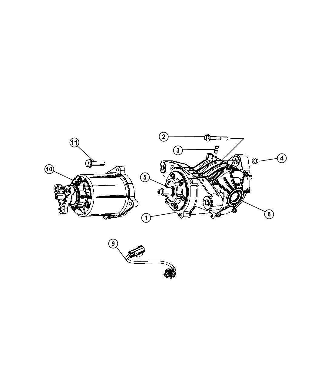 04809868ae  viscous unit kit  rear axle  bdorcviscous