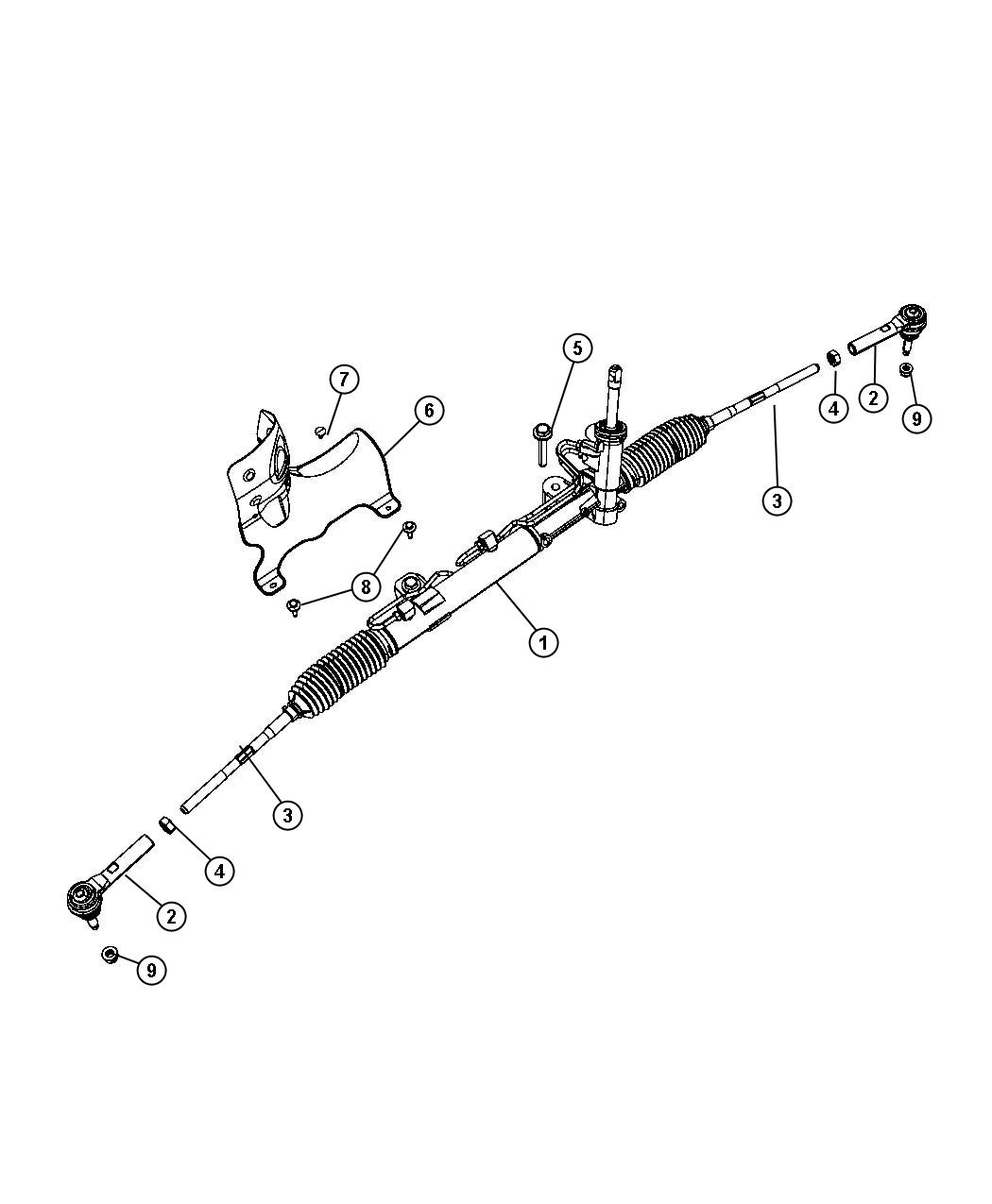Dodge Journey Gear  Used For  Rack And Pinion