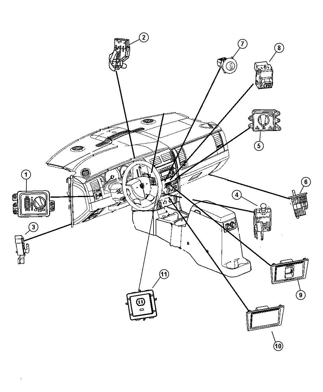 68020345ac mopar switch headlamp foglamps. Black Bedroom Furniture Sets. Home Design Ideas