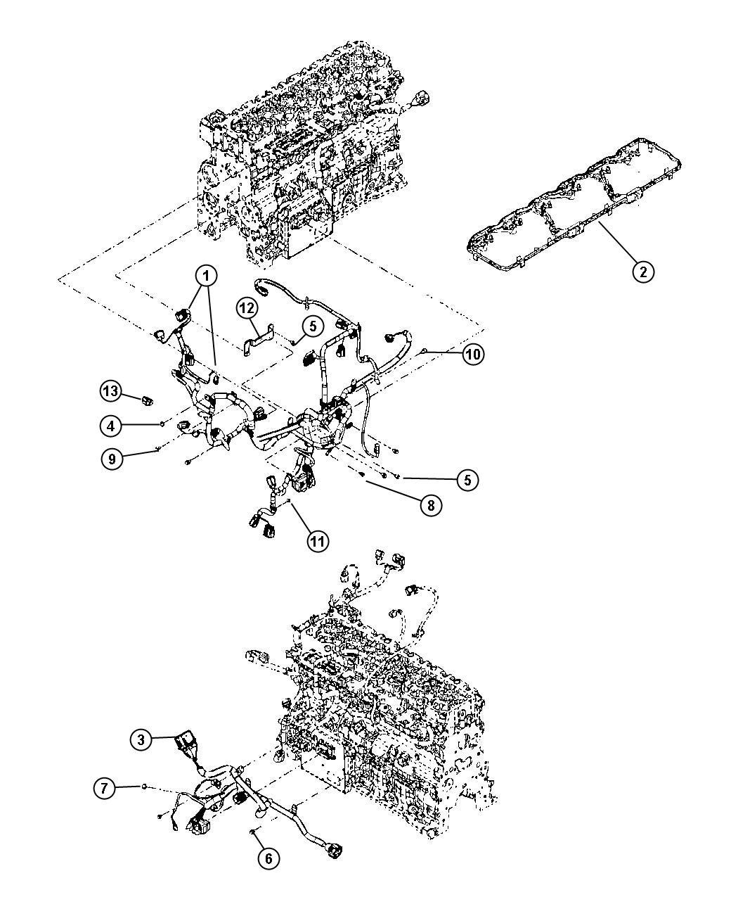 2009 dodge ram 3500 wiring  air intake heater  pch