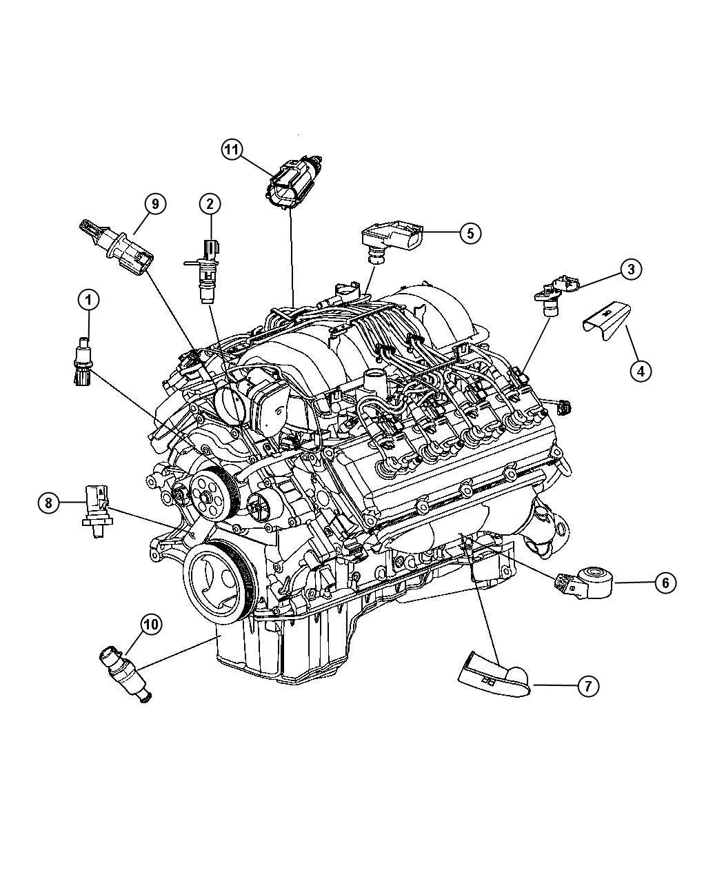 Dodge Challenger Sensor  Camshaft
