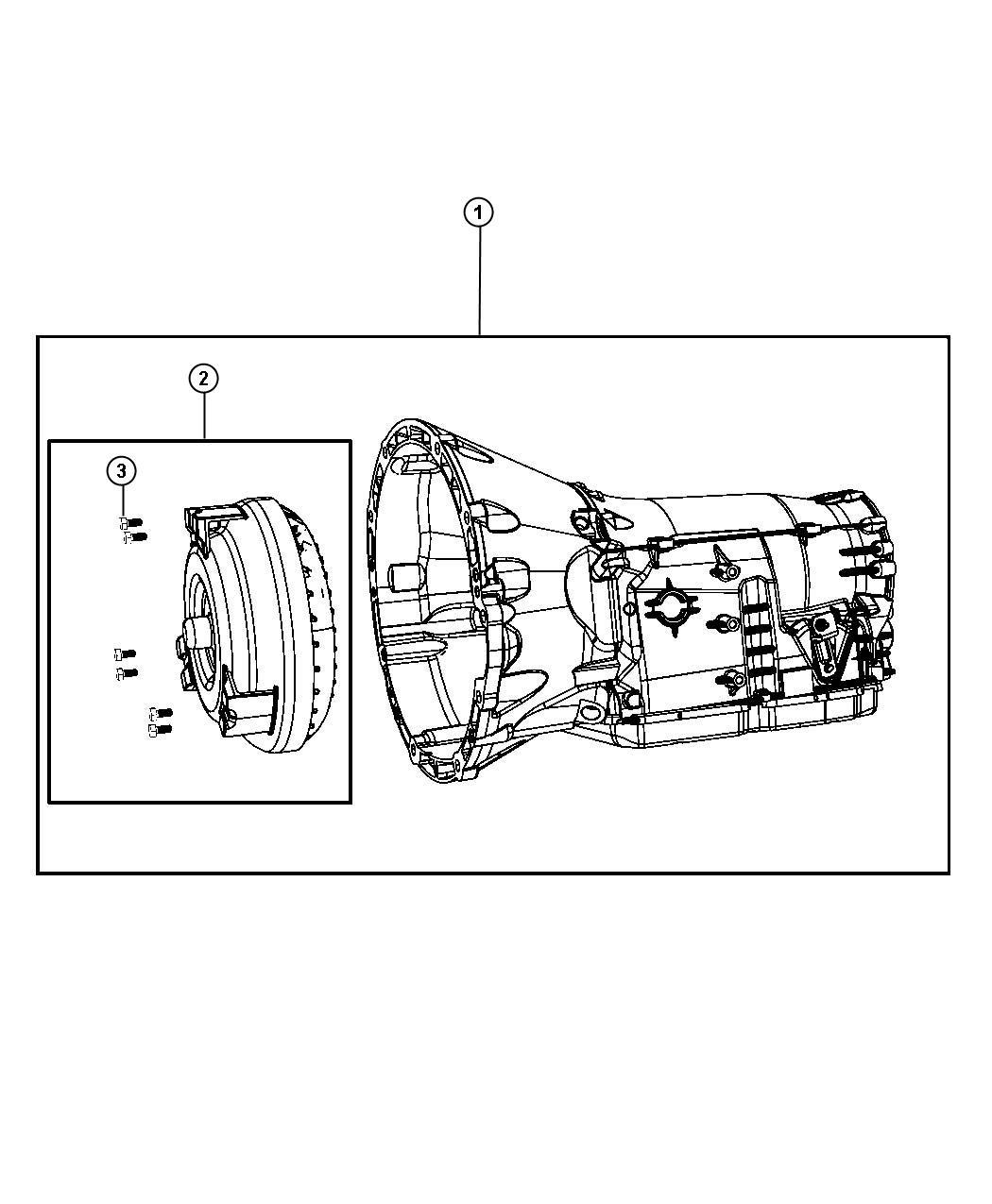 Chrysler 300 Transmission Kit  With Torque Converter