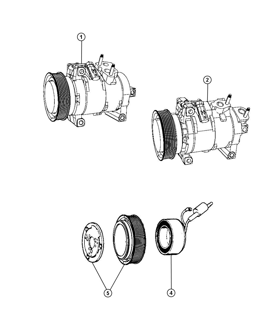 Dodge Express Snap Ring Kit  A  C Clutch