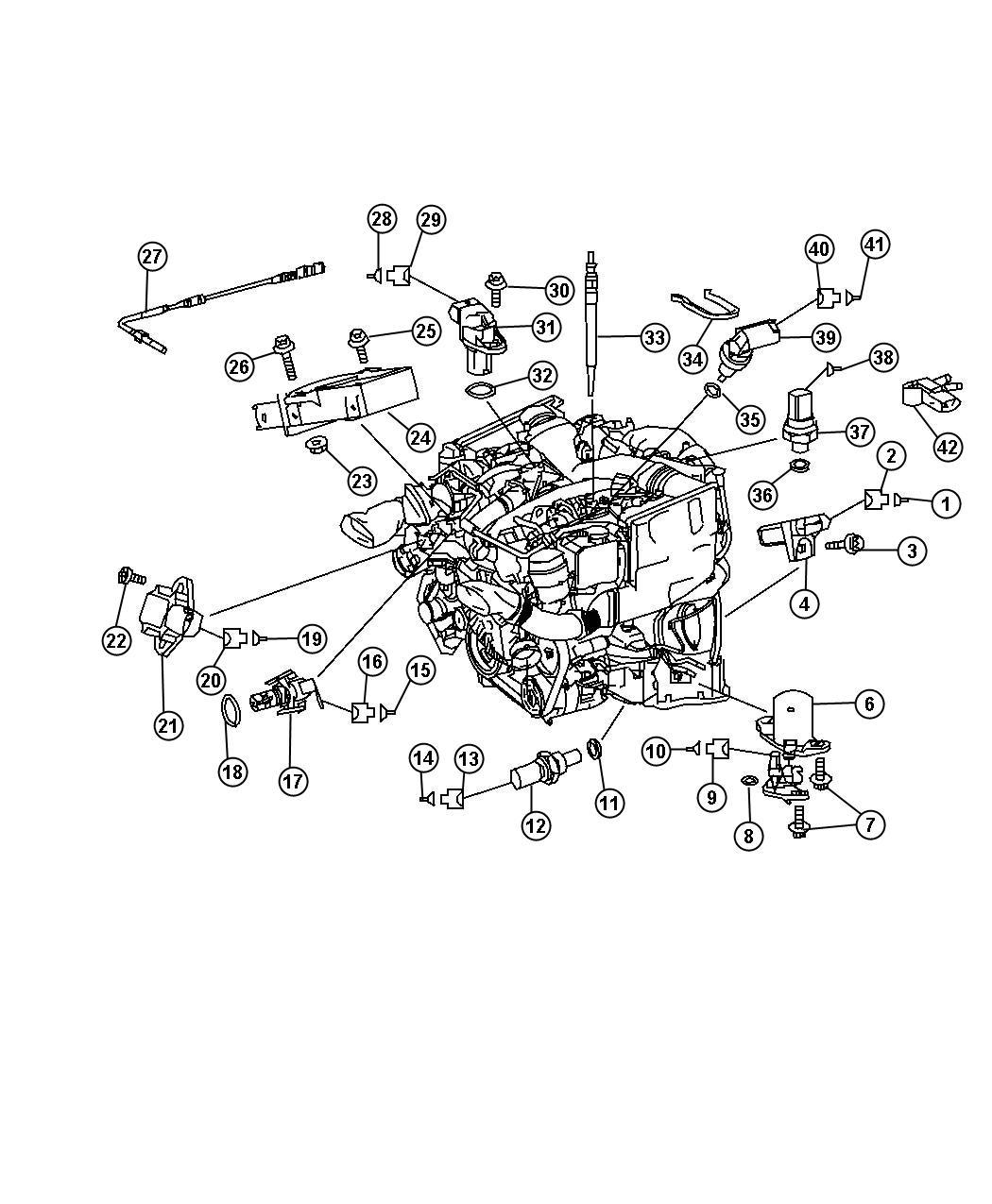 Dodge Sprinter Sensor  Oil Level