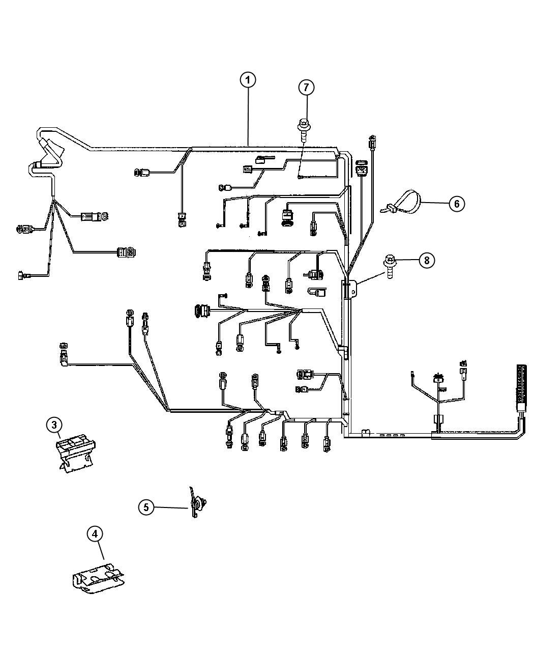 Dodge Sprinter Harness  Wiring  Interchangeable With