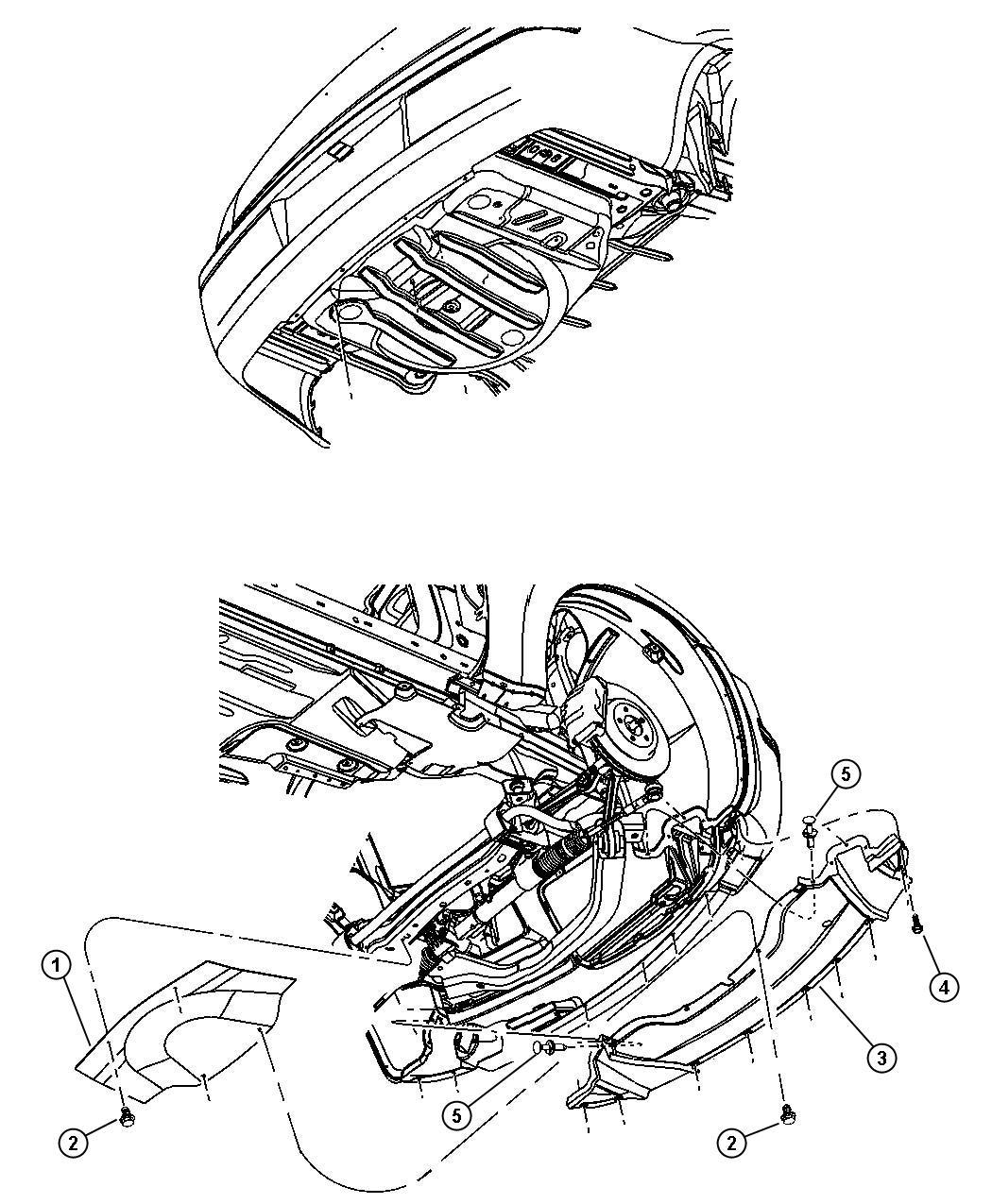 2010 Dodge Challenger R  T 5 7l Hemi V8 M  T Belly Pan