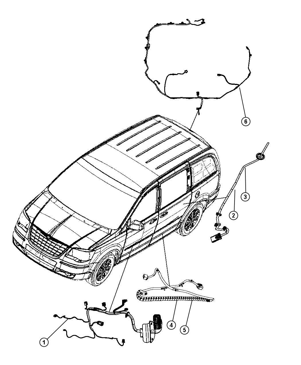 2015 Dodge Grand Caravan Module Left Door Pwr Folding Wiring Diagram