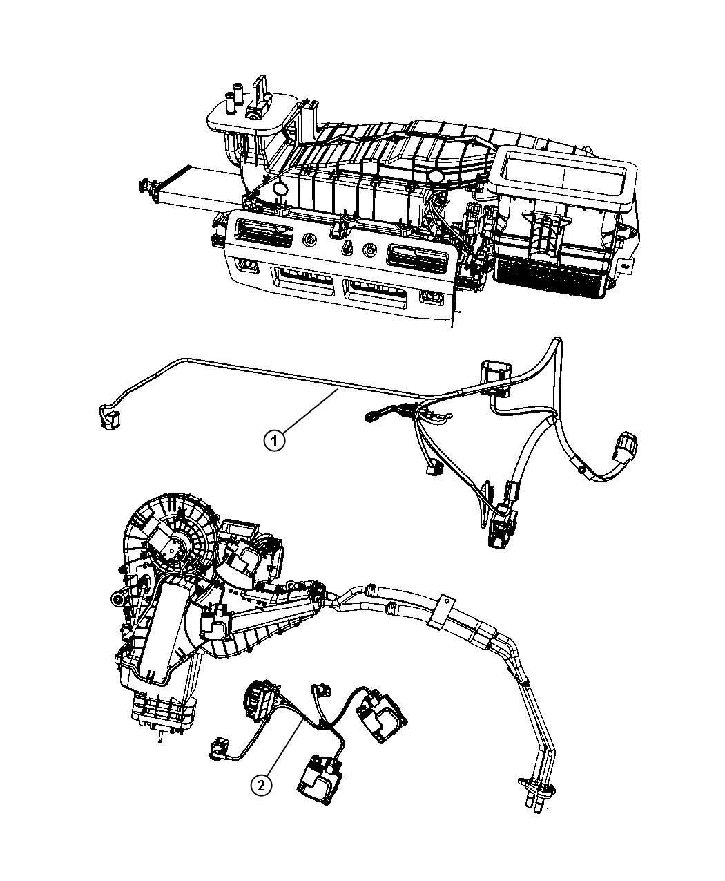 Dodge Durango Wiring  Rear A  C Jumper  After 1