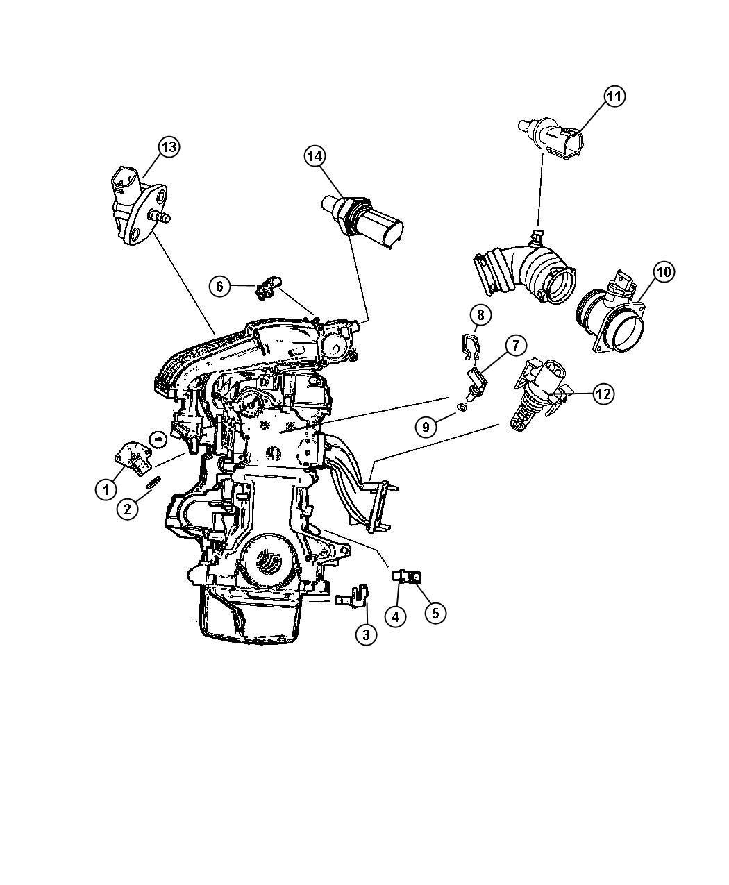 Dodge Sprinter Sending Unit  Sensor  Oil Level  Oil