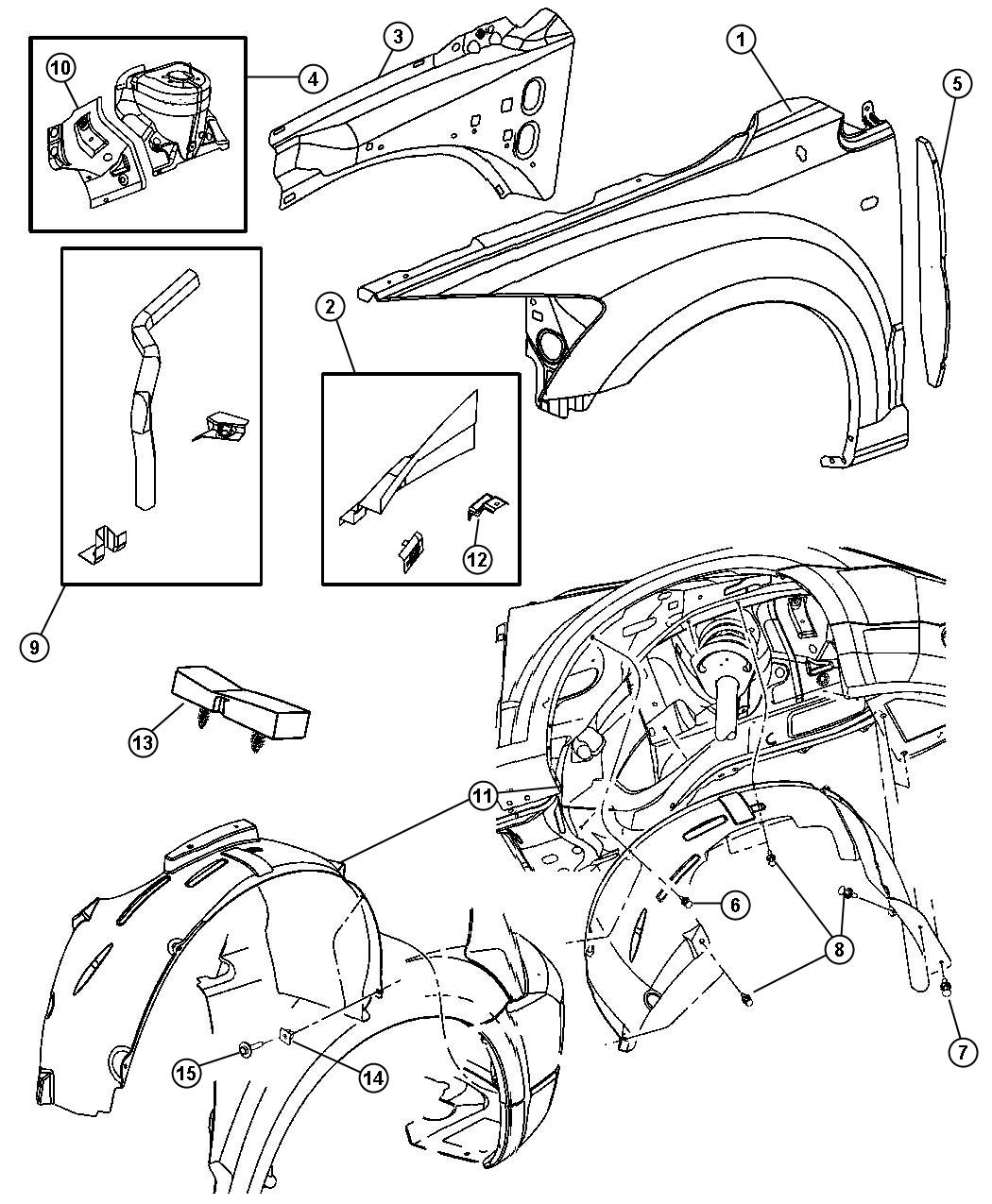 2013 Dodge Charger Se 3 6l V6 Pin  Push Pin  M8x10 3  Left  Right  Trim   No Description