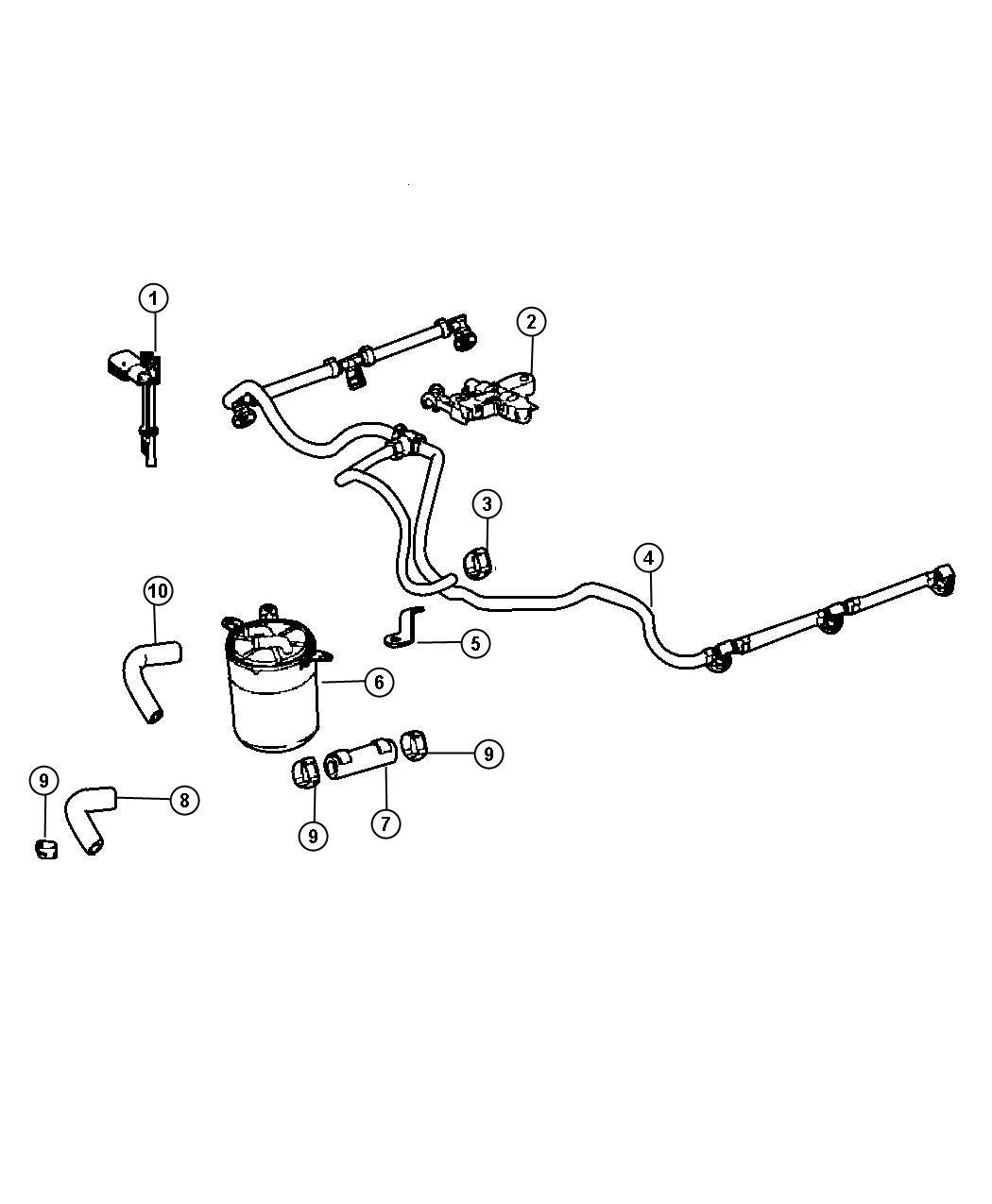 Dodge Sprinter Tube  Fuel  Filterfuel