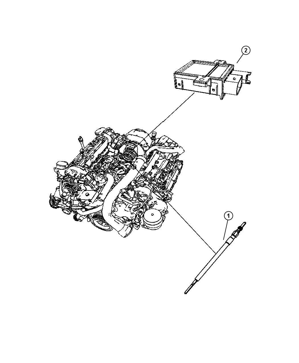 Dodge Sprinter Module  Glow Plug  Previous