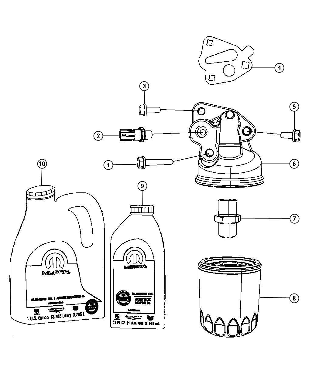 2005 dodge sending unit  switch  oil pressure  drivetrain  enginetransmission  ees