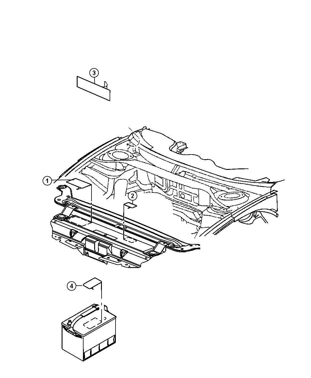 05058591aa mopar label coolant system cap radiator. Black Bedroom Furniture Sets. Home Design Ideas