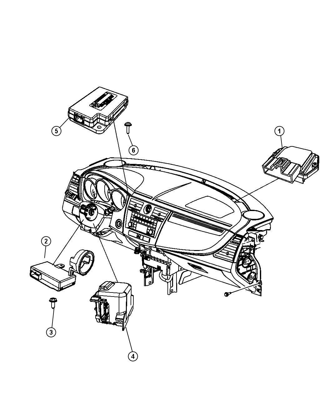 2013 Chrysler 200 Receiver  Keyless Entry  Lpkeyless