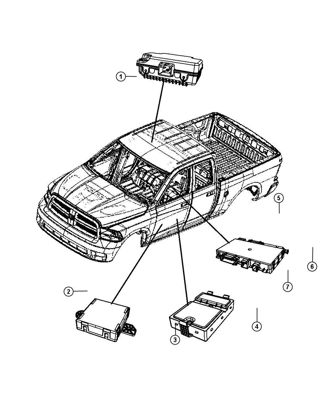 Ram 3500 Module  Diesel Exhaust Fluid   Selective Catalytic Reduction  Urea    New