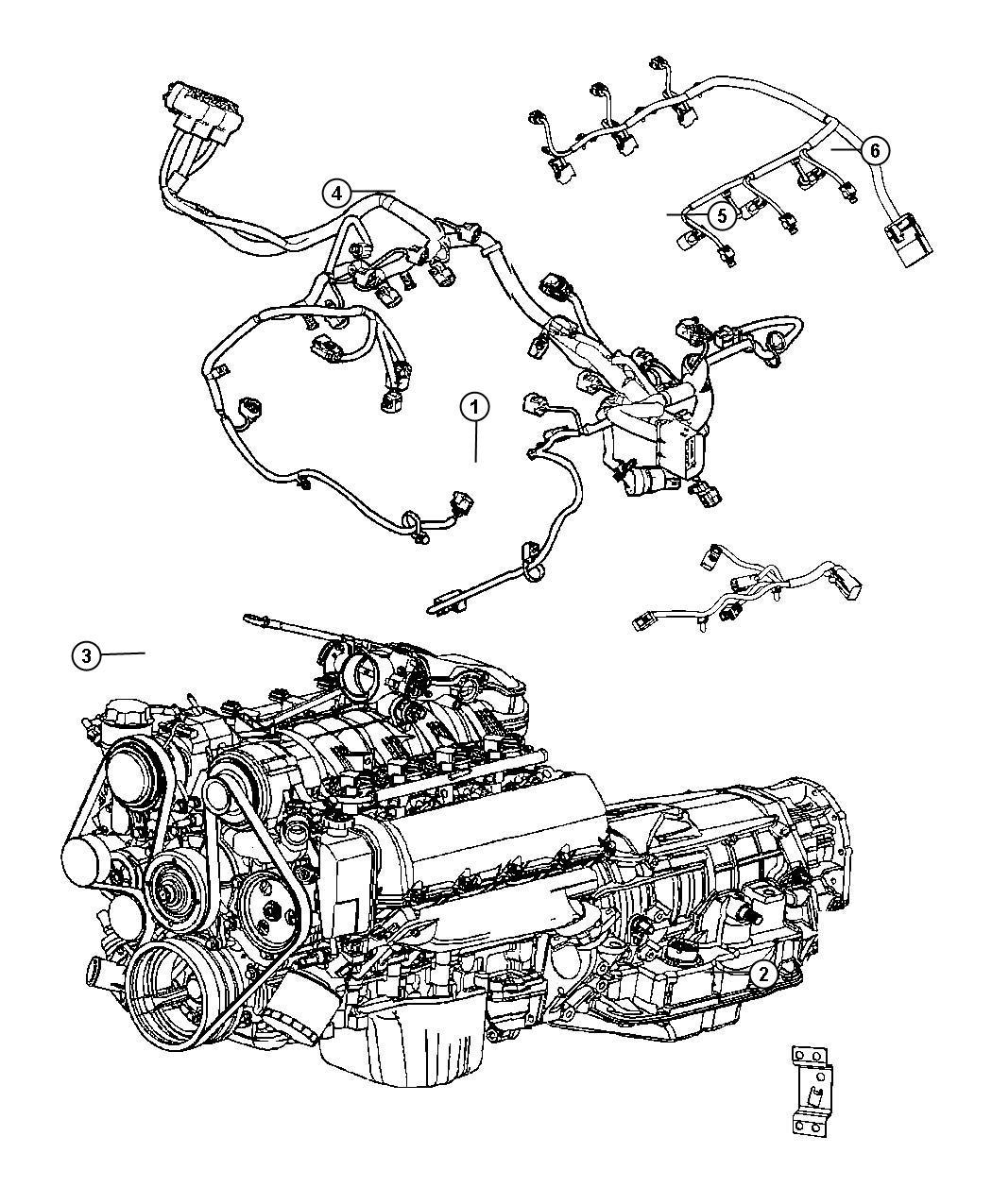 2012 Dodge Grand Caravan Crew 3 6l V6 Wiring  Injector