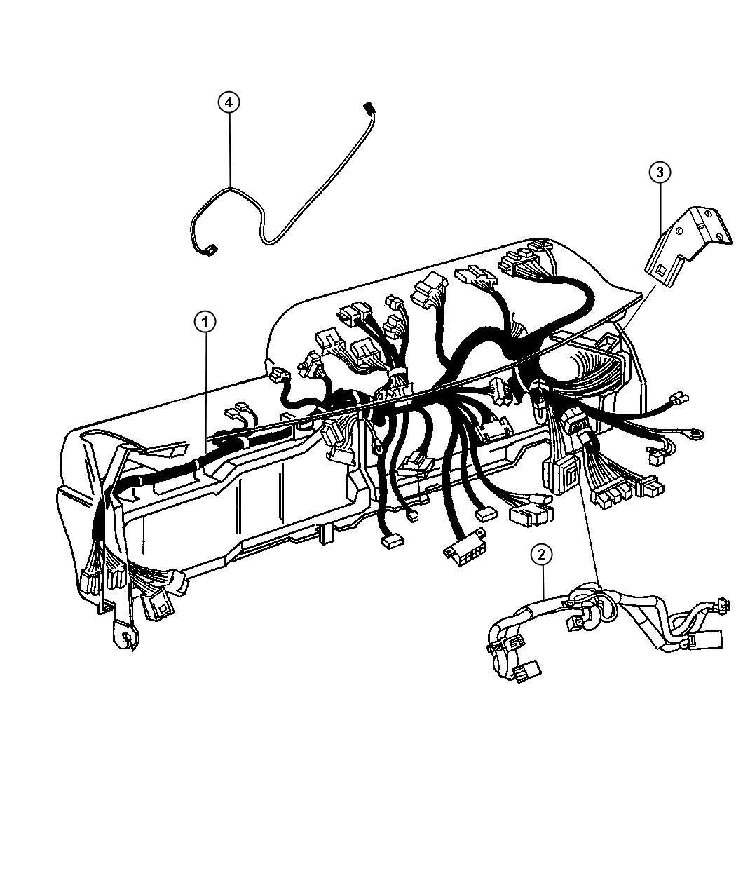 Ram 4500 Wiring  Instrument Panel   Air Conditioning    6