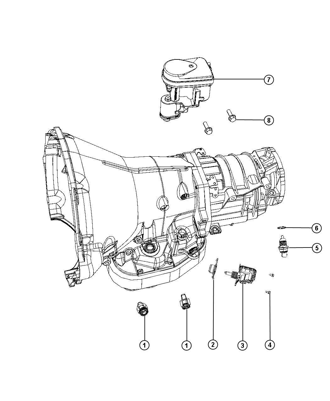 dodge ram 3500 lever  auto trans throttle control