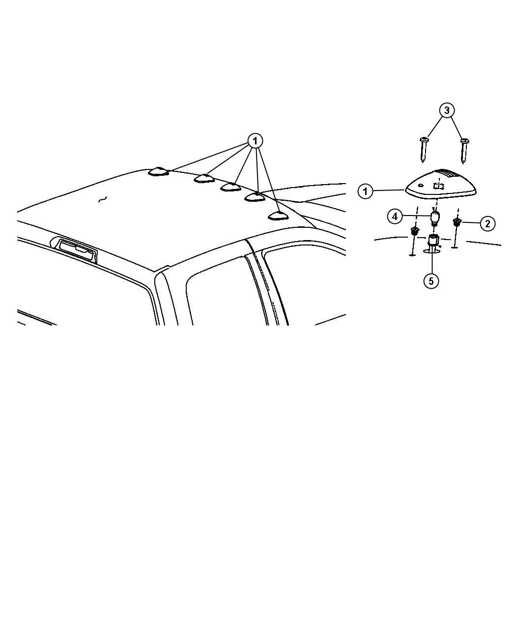 Ram 1500 Wiring  Header