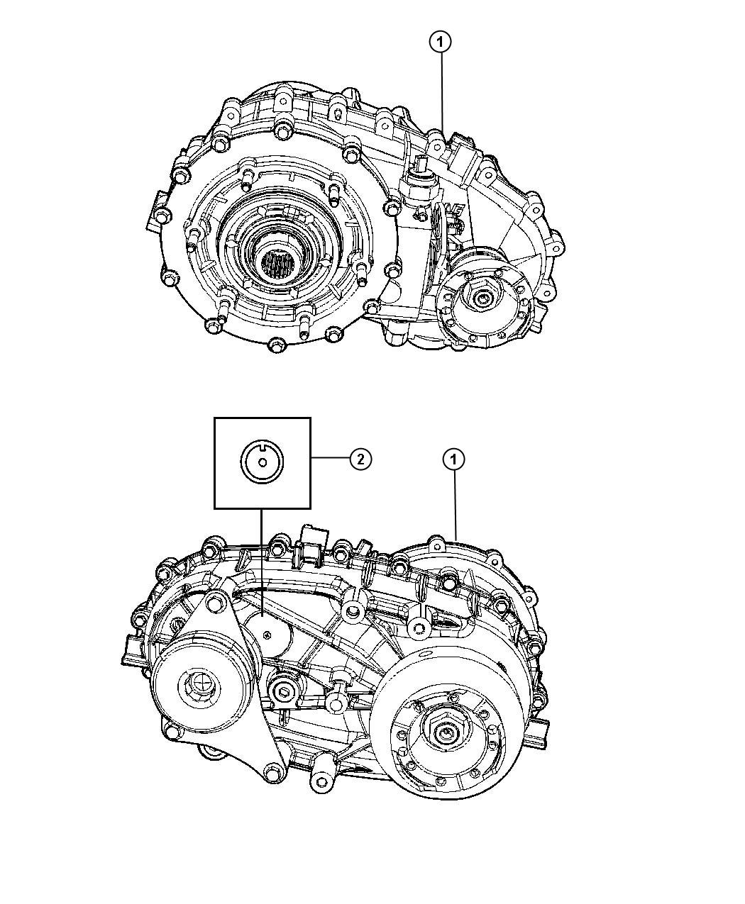 2008 Jeep Wrangler Transfer Case  Np241  Moduleman