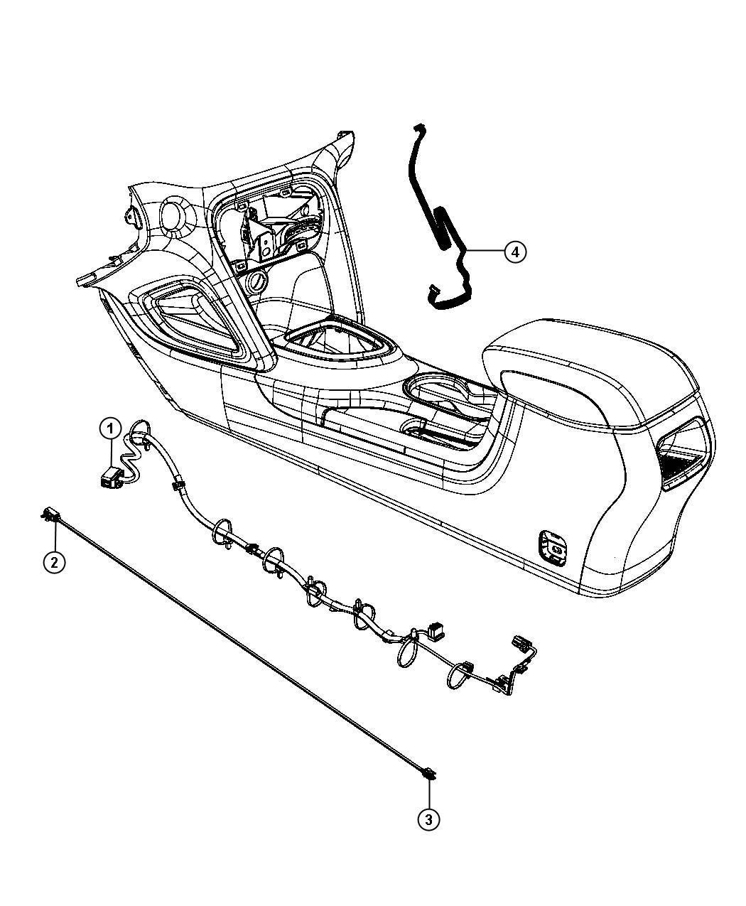 Dodge Dart Wiring  Console
