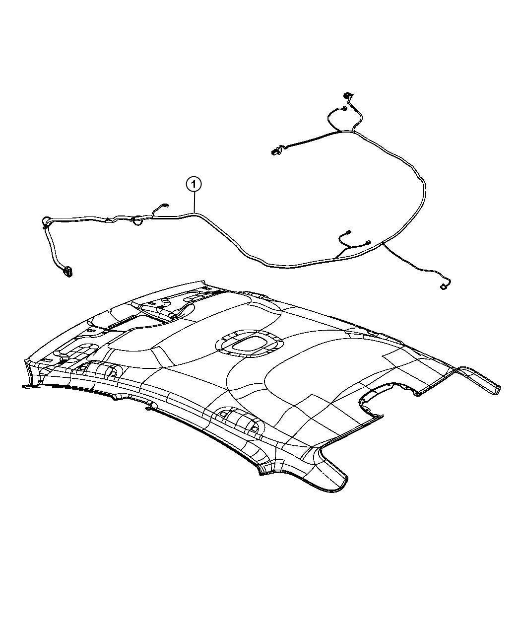 Dodge Dart Wiring  Headliner