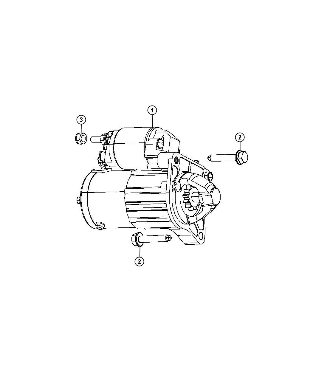 2013 Dodge Dart Limited 1 4l Turbo I4 M  T Starter  Remanufactured  Engine