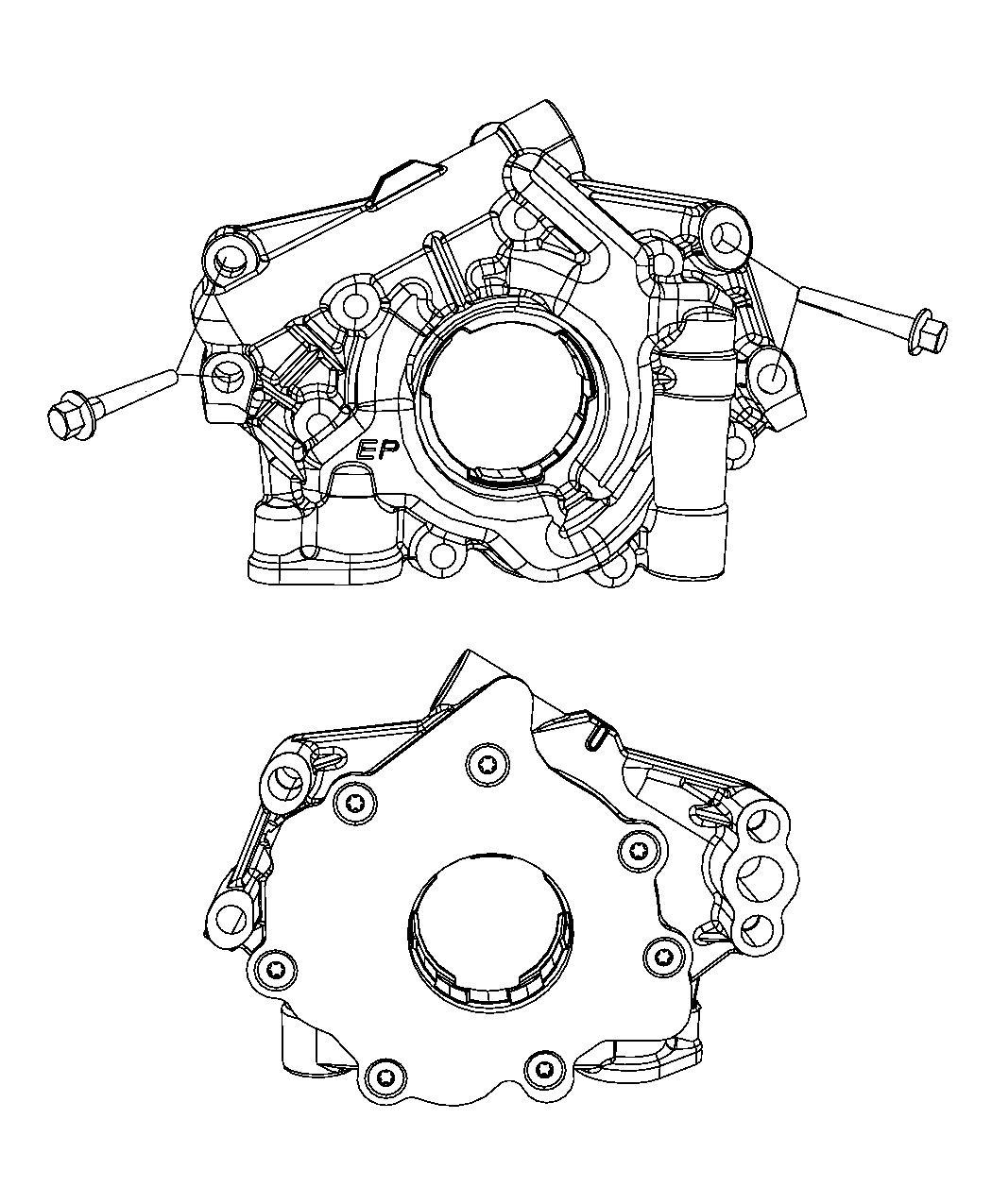 Jeep Grand Cherokee Pump  Engine Oil