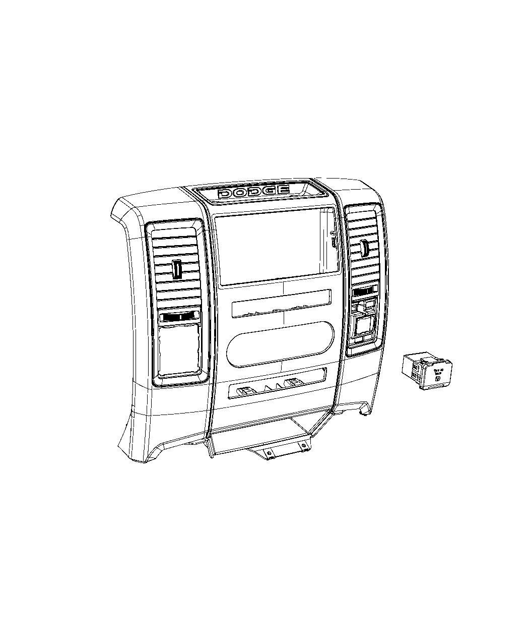 Ram 5500 Power Outlet  Inverter
